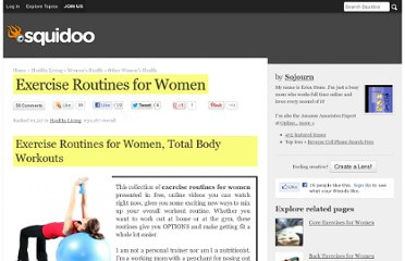 http://www.squidoo.com/exercise-routines-for-women
