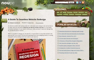http://www.noupe.com/how-tos/a-guide-to-seamless-website-redesign.html