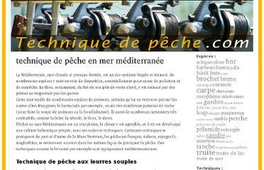 ://techniquedepeche.com/peche/technique-de-peche-en-mer-mediterranee