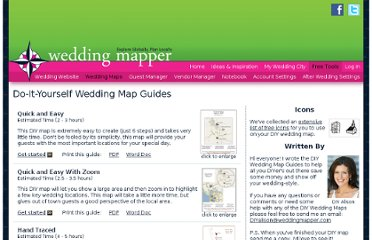 http://www.weddingmapper.com/diy/wedding_map