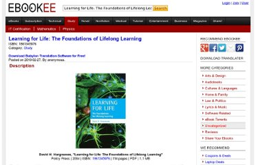 http://ebookee.org/Learning-for-Life-The-Foundations-of-Lifelong-Learning_481179.html