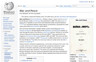 http://en.wikipedia.org/wiki/War_and_Peace