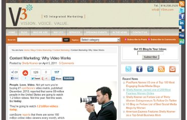 http://www.v3im.com/2011/04/content-marketing-why-video-works/#axzz1ImGoSFZv