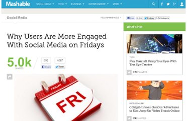 http://mashable.com/2011/04/08/social-media-engagement-friday/