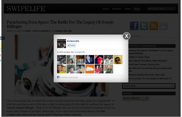http://swipelife.com/2011/03/10/parachuting-from-space-the-battle-for-the-legacy-of-joseph-kittinger/
