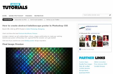 http://www.adobetutorialz.com/articles/30970676/1/how-to-create-abstract-kaleidoscope-poster-in-photoshop-cs5