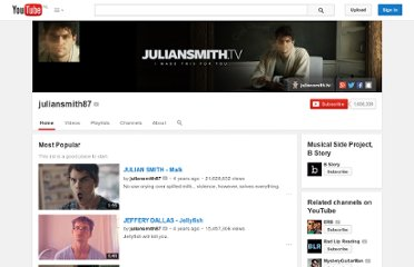 http://www.youtube.com/user/juliansmith87