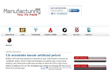 http://www.manufacturingdigital.com/sectors/chemicals-plastics/uk-scientists-invent-artificial-petrol