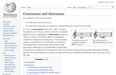 http://en.wikipedia.org/wiki/Consonance_and_dissonance