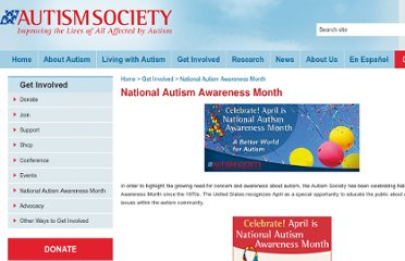 http://www.autism-society.org/about-us/national-autism-awareness-month/