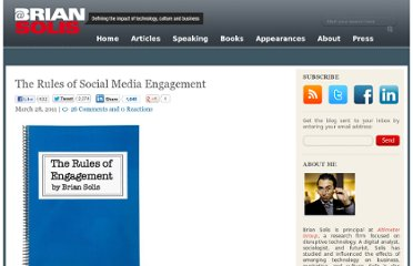 http://www.briansolis.com/2011/03/the-rules-of-social-media-engagement/#
