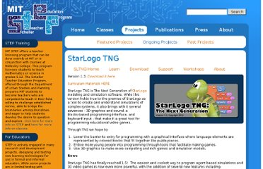 http://education.mit.edu/projects/starlogo-tng