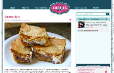 http://www.cookingwithmykid.com/recipes/smores-bars/