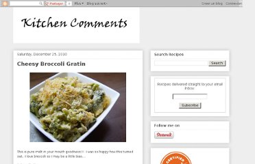 http://kitchencomments.blogspot.com/2010/12/cheesy-broccoli-gratin.html