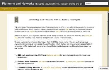 http://platformsandnetworks.blogspot.com/2011/01/launching-tech-ventures-part-iii-tools.html
