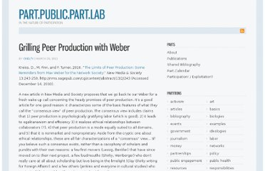 http://recursivepublic.net/2011/03/grilling-peer-production-with-weber/