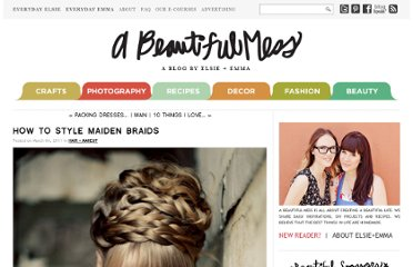 http://abeautifulmess.typepad.com/my_weblog/2011/03/how-to-style-maiden-braids-.html