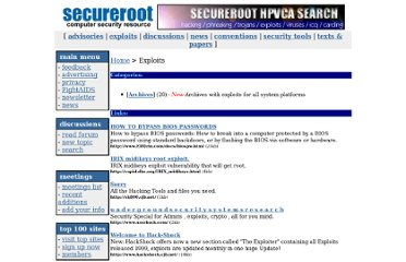 http://www.secureroot.com/category/exploits/