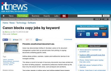 http://www.itnews.com.au/News/235047,canon-blocks-copy-jobs-by-keyword.aspx