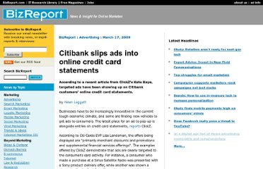 http://www.bizreport.com/2009/03/citibank_slips_ads_into_online_credit_card_statements.html#