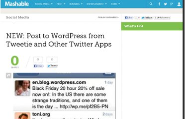 http://mashable.com/2009/12/12/wordpress-twitter-api/