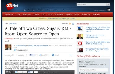 http://www.zdnet.com/blog/crm/a-tale-of-two-cities-sugarcrm-from-open-source-to-open/2887