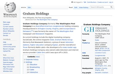 http://en.wikipedia.org/wiki/The_Washington_Post_Company