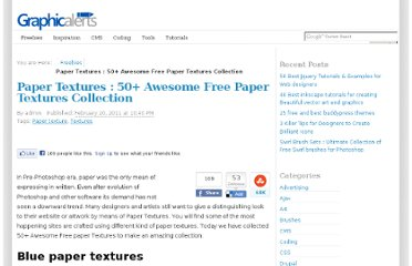 http://graphicalerts.com/paper-textures-50-awesome-free-paper-textures-collection/