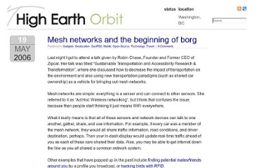 http://highearthorbit.com/mesh-networks-and-the-beginning-of-borg/