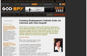 http://oldarchive.godspy.com/reviews/Cracking-Shakespeares-Code-An-interview-with-Claire-Asquith-author-of-Shadowplay.cfm.html