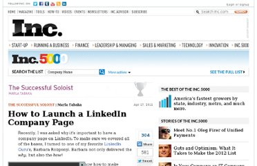 http://www.inc.com/how-to-launch-a-linkedin-company-page.html