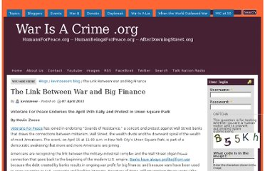 http://warisacrime.org/content/link-between-war-and-big-finance
