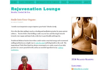 http://thehealthylivinglounge.com/2010/03/11/smile-into-your-organs-and-feel-relaxed-on-the-inside/
