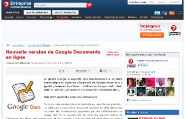 http://www.commentcamarche.net/news/5851828-nouvelle-version-de-google-documents-en-ligne#q=P%E9dagogie+google+document&cur=3&url=%2Ffaq%2F30983-choisir-un-service-de-partage-de-documents-en-ligne