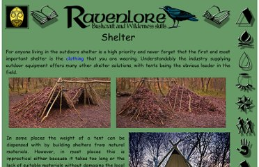http://www.ravenlore.co.uk/html/shelter.html