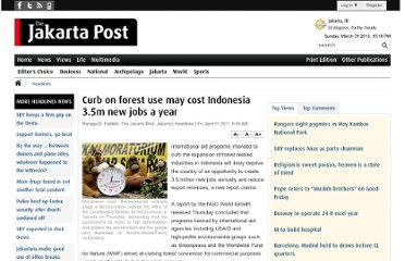 http://www.thejakartapost.com/news/2011/04/01/curb-forest-use-may-cost-indonesia-35m-new-jobs-a-year.html