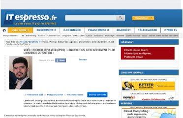 http://www.itespresso.fr/video-rodrigo-sepulveda-vpod-dailymotion-cest-seulement-3-pour-cent-de-l-audience-de-youtube-32807.html