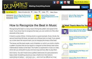 http://www.dummies.com/how-to/content/how-to-recognize-the-beat-in-music.html