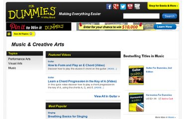 http://www.dummies.com/how-to/music-creative-arts.html
