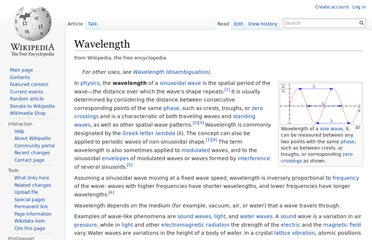 http://en.wikipedia.org/wiki/Wavelength
