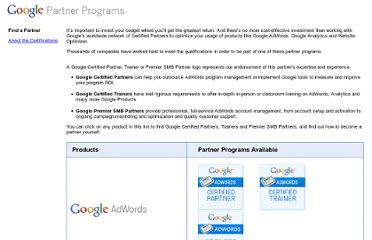 http://www.google.fr/adwords/partnerprograms/index.html