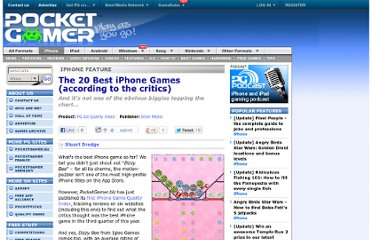 http://www.pocketgamer.co.uk/r/iPhone/PGbiz+Quality+Index/feature.asp?c=9336