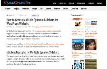 http://www.quickonlinetips.com/archives/2007/11/how-to-create-multiple-dynamic-sidebars-for-wordpress-widgets/