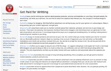 http://webserviceswiki.org/Get_Paid_for_Writting