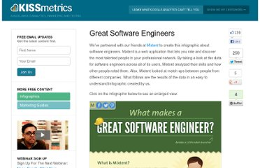 http://blog.kissmetrics.com/software-engineer/