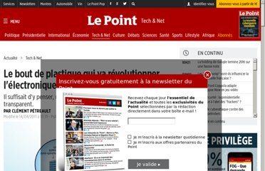 http://www.lepoint.fr/high-tech-internet/le-bout-de-plastique-qui-va-revolutionner-l-electronique-12-04-2011-1318521_47.php