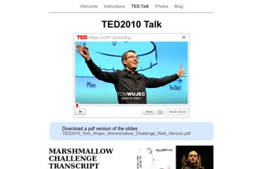 http://marshmallowchallenge.com/TED_Talk.html