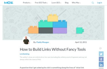 http://www.seomoz.org/blog/how-to-build-links-without-fancy-tools