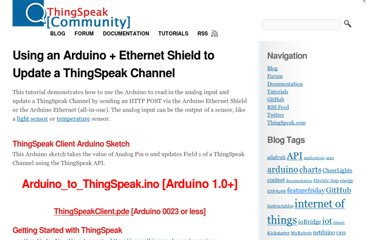 http://community.thingspeak.com/tutorials/arduino/using-an-arduino-ethernet-shield-to-update-a-thingspeak-channel/