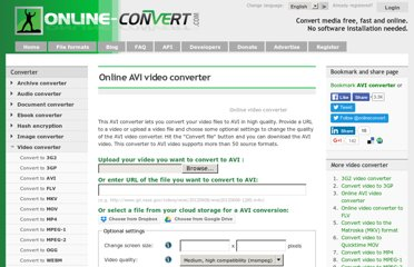 http://video.online-convert.com/convert-to-avi